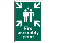 Scan SCA1541 - Fire Assembly Point - PVC 200 x 300mm