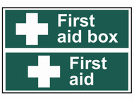 Scan SCA1553 - First Aid Box / First Aid - PVC 300 x 200mm