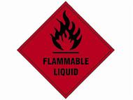 Scan SCA1850S - Flammable Liquid SAV - 100 x 100mm