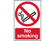 Scan SCA4050 - No Smoking - PVC 400 x 600mm
