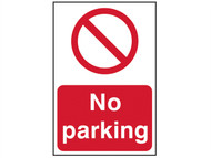 Scan SCA4051 - No Parking - PVC 400 x 600mm