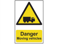 Scan SCA4100 - Danger Moving Vehicles - PVC 400 x 600mm