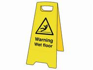Scan SCA4702 - Warning Wet Floor Heavy-Duty A Board