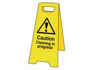 Scan SCA4703 - Caution Cleaning In Progress Heavy-Duty A Board