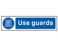 Scan SCA5003 - Use Guards - PVC 200 x 50mm
