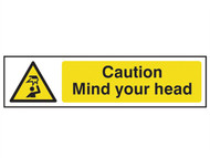 Scan SCA5110 - Caution Mind Your Head - PVC 200 x 50mm