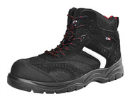 Scan SCAFWBOB10 - Bobcat Low Ankle Hiker Boot Black UK 10 Euro 44