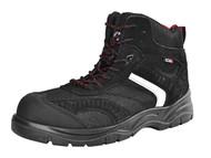 Scan SCAFWBOB7 - Bobcat Low Ankle Hiker Boot Black UK 7 Euro 41