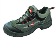 Scan SCAFWCHEE6 - Cheetah Grey Red Safety Trainers UK 6 Euro 40