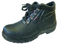 Scan SCAFWCHUK8 - Dual Density Chukka Boots Black UK 8 Euro 42