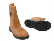 Scan - Dual Density Lined Rigger Boots Tan UK 7 Euro 41