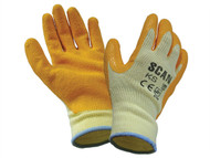 Scan SCAGLOKS - Knit Shell Latex Palm Gloves