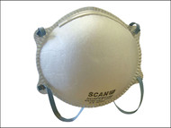 Scan SCAPPEP2MB - Moulded Disposable Mask FFP2 Protection (Box 20)