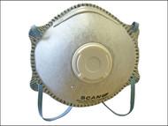 Scan SCAPPEP2OMV - Moulded Disposable Odour Mask Valved FFP2 Protection (3)