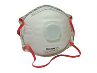 Scan SCAPPEP3MVD - Moulded Disposable Valved Masks (2) FFP3