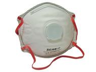 Scan SCAPPEP3MVDB - Moulded Disposable Valved Masks(10) FFP3