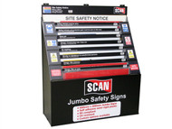 Scan SCASSDIS36 - Signs Display - 36 Large Signs