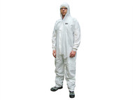 Scan SCAWWDOL56 - Chemical Splash Resistant Disposable Coverall White Type 5/6 Large