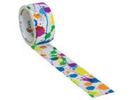 Shurtape SHU104230 - Duck Tape 48mm x 9.1m Ink Splat