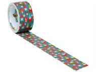 Shurtape SHU104371 - Duck Tape 48mm x 9.1m Elf Invaders