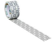 Shurtape SHU104372 - Duck Tape 48mm x 9.1m Frosty The Snowflake