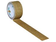 Shurtape SHU104375 - Duck Tape 48mm x 9.1m Natural Hessian