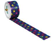 Shurtape SHU104376 - Duck Tape 48mm x 9.1m Paint Paws