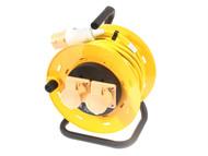 SMJ - Basix Cable Reel 25 Metre (1.5 mm Cable) 16A 110 Volt