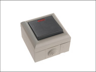 SMJ SMJEP1GNB - IP54 1 Gang 2 Way Switch With LED