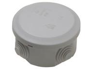 SMJ SMJEPJBR4 - IP44 Junction Box 5T 70 x 70 x 40mm