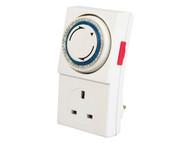 SMJ SMJMPIT1C - Basix 24h Mechanical Plug In Timer