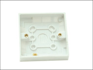 SMJ SMJTWSP16 - Surface Pattress Box Single 16mm Depth