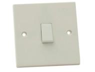SMJ SMJW12LSC - Light Switch 1 Gang 2 Way