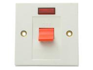 SMJ SMJW30SNC - Flush DP Switch & Neon 30A