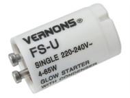 SMJ SMJWAS80C - Flourescent Tube Starter Switch 4 - 65 Watts