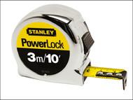 Stanley Tools STA033523 - Powerlock Classic Tape 3m / 10ft (Width 19mm)