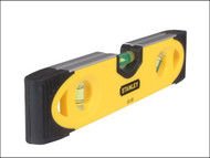 Stanley Tools STA043511 - Shock-proof Torpedo Level Magnetic 230mm
