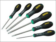 Stanley Tools STA065099 - FatMax Tamperproof Torx Screwdriver Set of 6