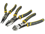 Stanley Tools STA072415 - FatMax Compound Action Pliers Set of 3
