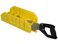 Stanley Tools STA119800 - Saw Storage Mitre Box with Saw