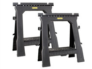 Stanley Tools STA170713 - Folding Saw Horse Twin Pack