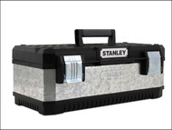 Stanley Tools STA195619 - Galvanised Metal Toolbox 23in