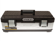 Stanley Tools STA195620 - Galvanised Metal Toolbox 26in