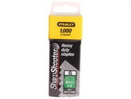 Stanley Tools STA1TRA709T - TRA7 Heavy-Duty Staple 14mm TRA709T Pack 1000