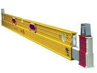 Stabila STB106T213 - 106T-213 Extendable Spirit Level 3 Vial 213-376cm