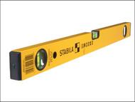 Stabila STB70232 - 70-2-80 Double Plumb Spirit Level 3 Vial 80cm