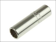 Stahlwille STW40ADL38 - Bi-Hexagon Socket Extra Deep 1/4in Drive 3/8in