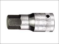 Stahlwille STW44K4 - In-Hex Socket 1/4in Drive Short 4mm