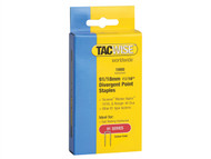 Tacwise TAC0287 - 91 Narrow Crown Divergent Point Staples 18mm - Electric Tackers Pack 1000