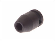 Teng TEN920524 - Impact Socket Hexagon 6 Point 1/2in Drive 24mm